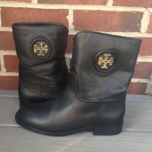 Tory Burch Short Junction Booties